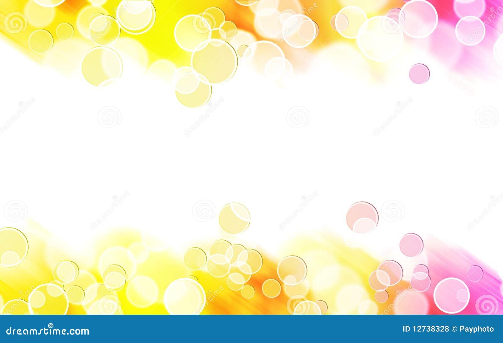 ... Colorful Bubble Border Royalty Free Stock Photos - Image: 12738328