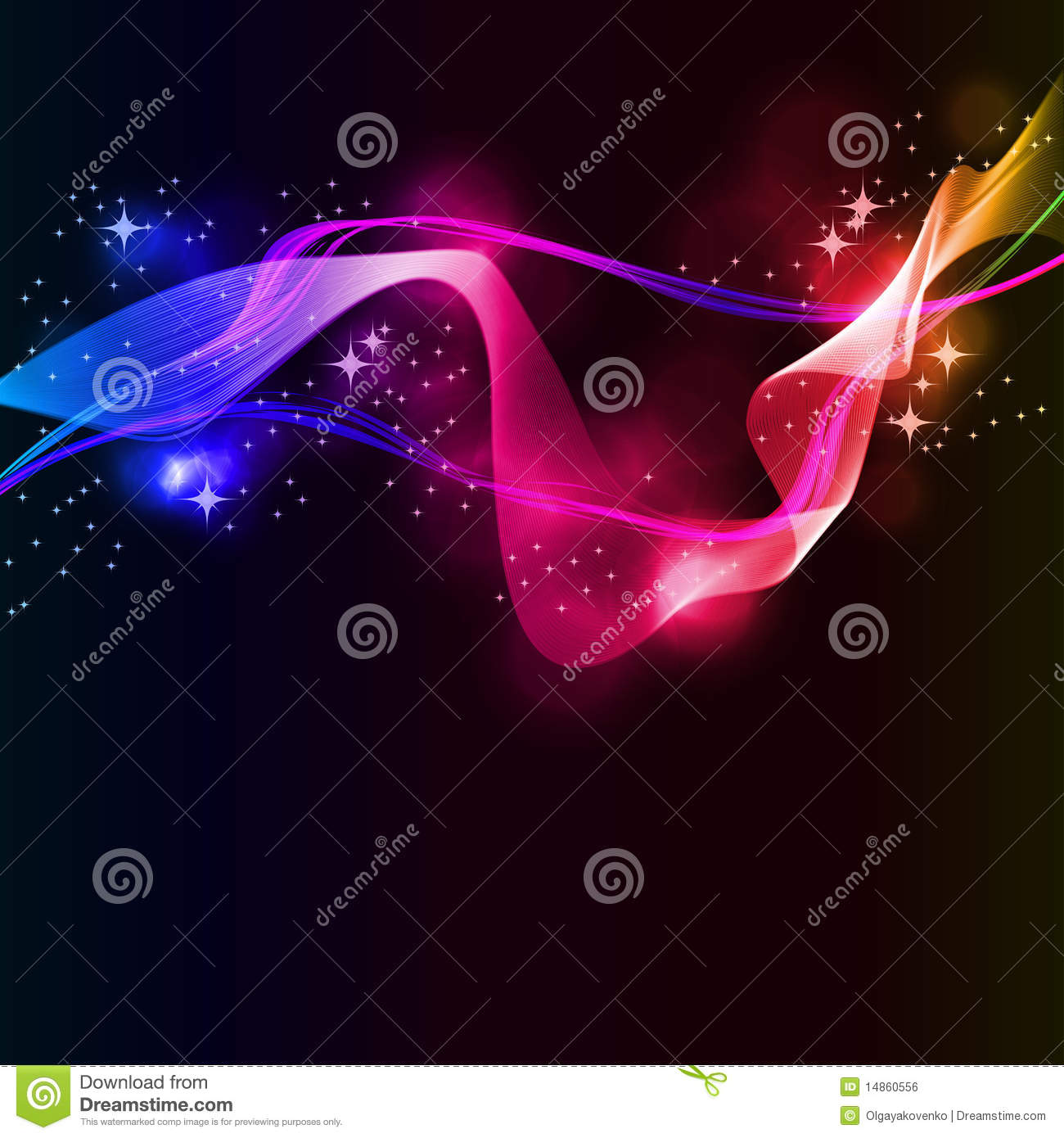 Abstract Colorful Business Background