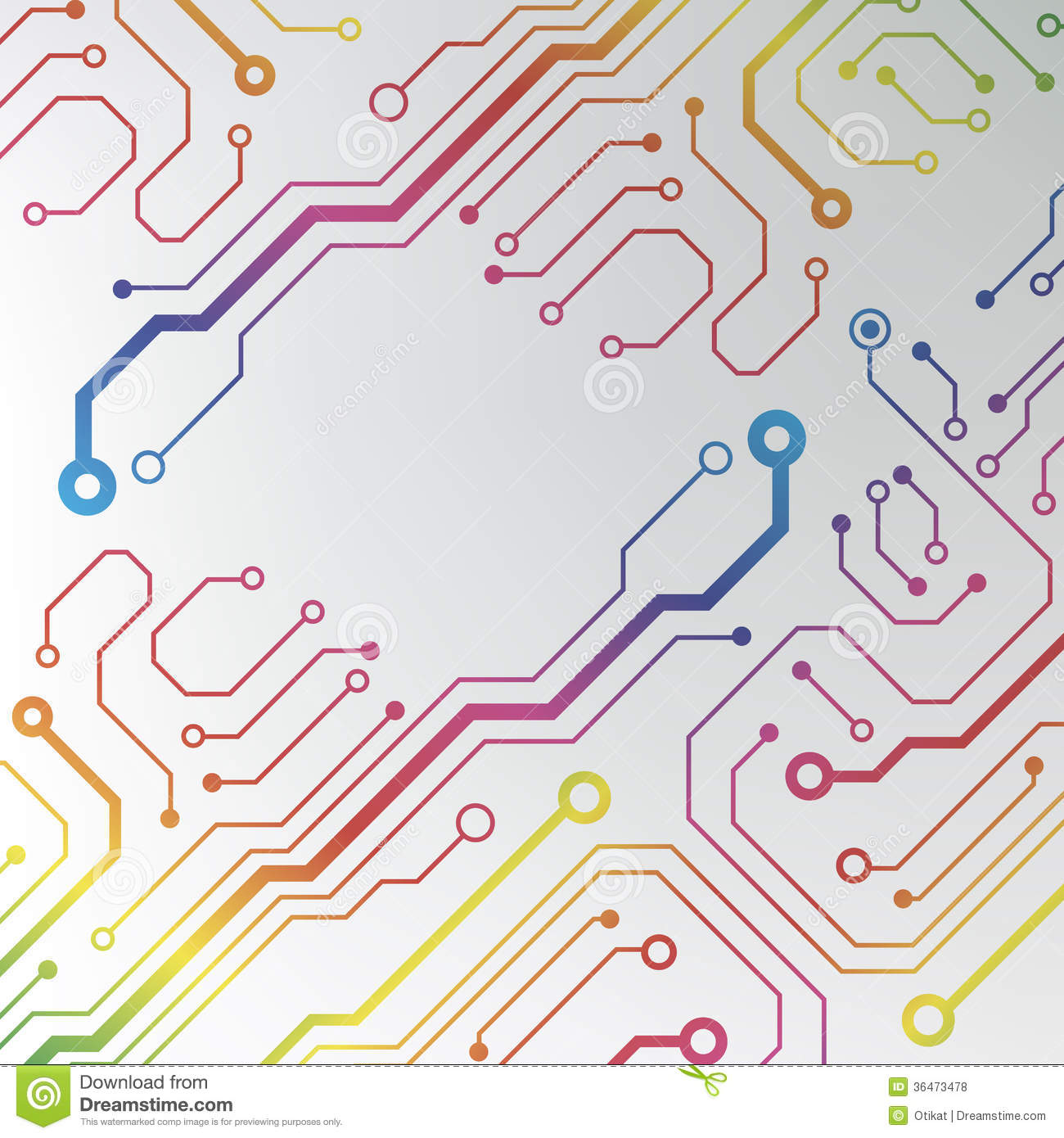 Free Circuit Board Illustration Manual Guide Wiring Diagram Background Royalty Stock Image 24974606 Abstract Colorful Lined Pattern Rh Dreamstime Com