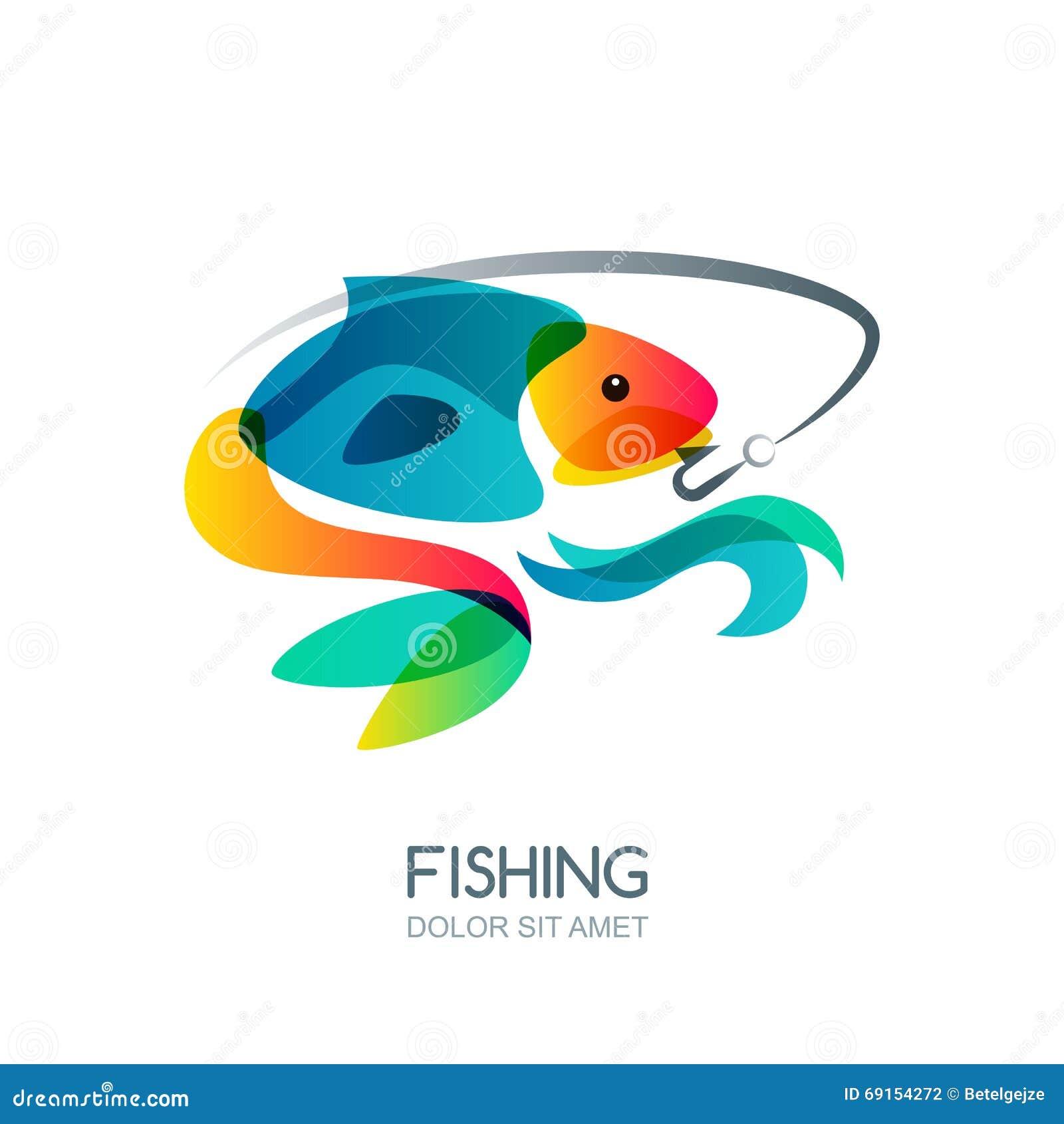 Fish Vector Logo Design Template. Fishing Or Cartoon ...