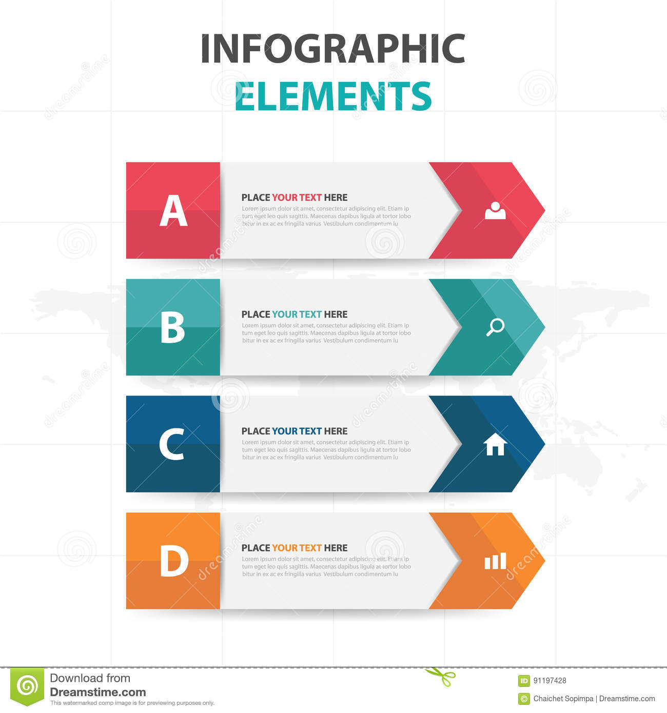 Abstract colorful label business timeline infographics elements download abstract colorful label business timeline infographics elements presentation template flat design vector illustration for friedricerecipe Choice Image
