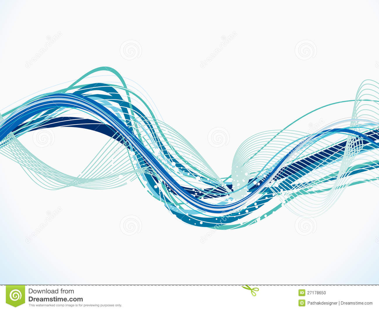 blue line wave background - photo #40