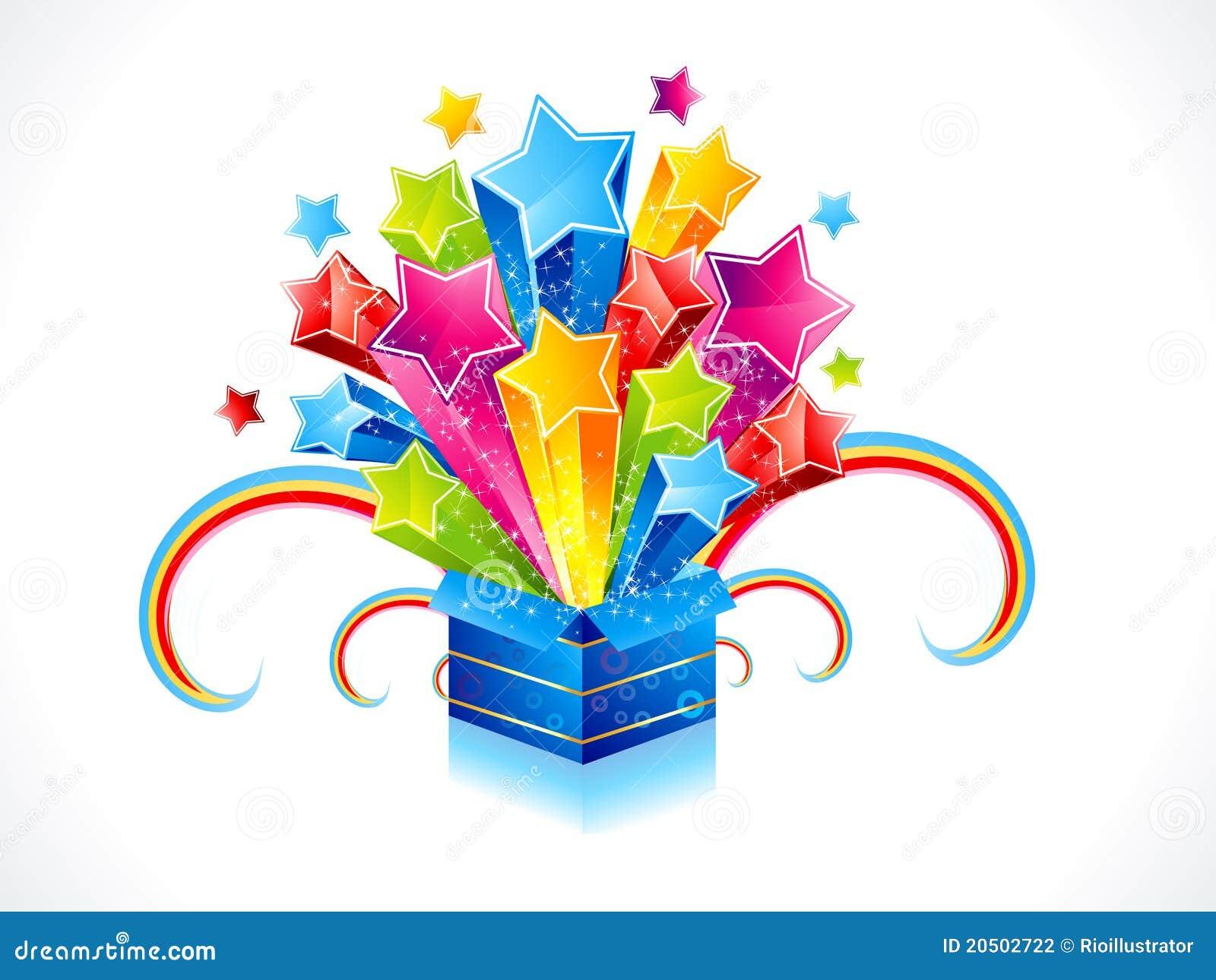 ... colorful magic box...