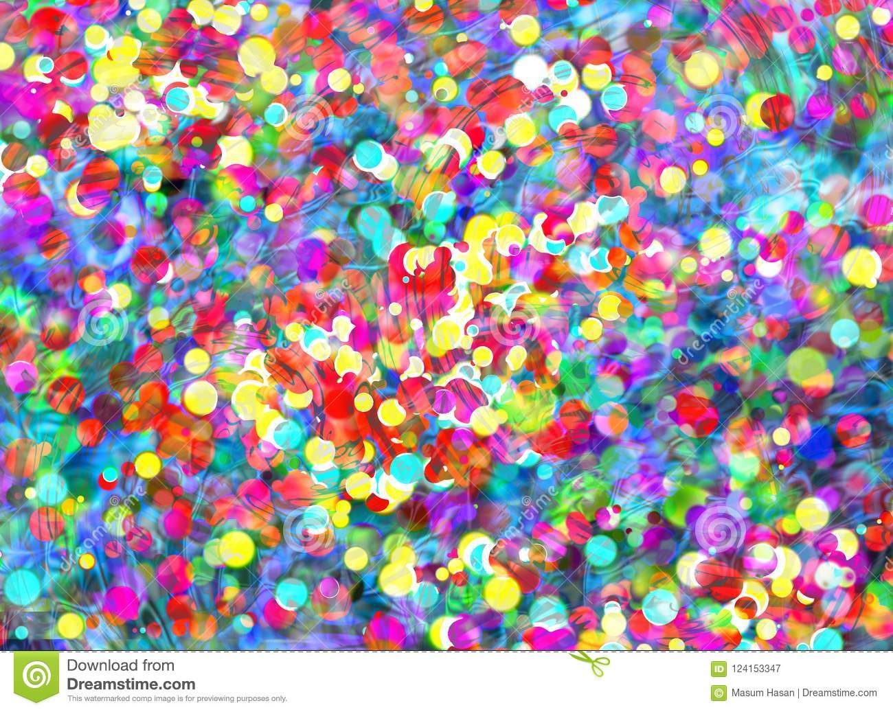 abstract colorful pattern background design greeting card