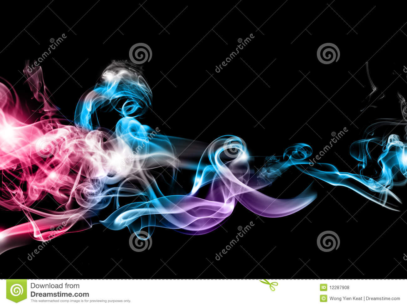 abstract colorful smoke royalty free stock photos image