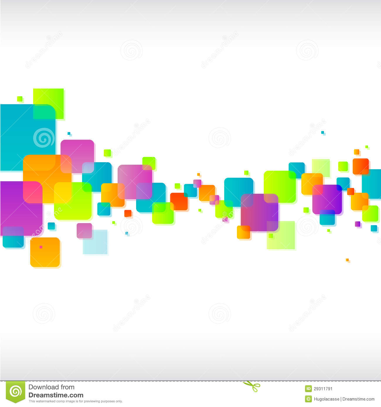 Download Abstract Colorful Square Background Stock Vector - Illustration of design, bright: 29311791