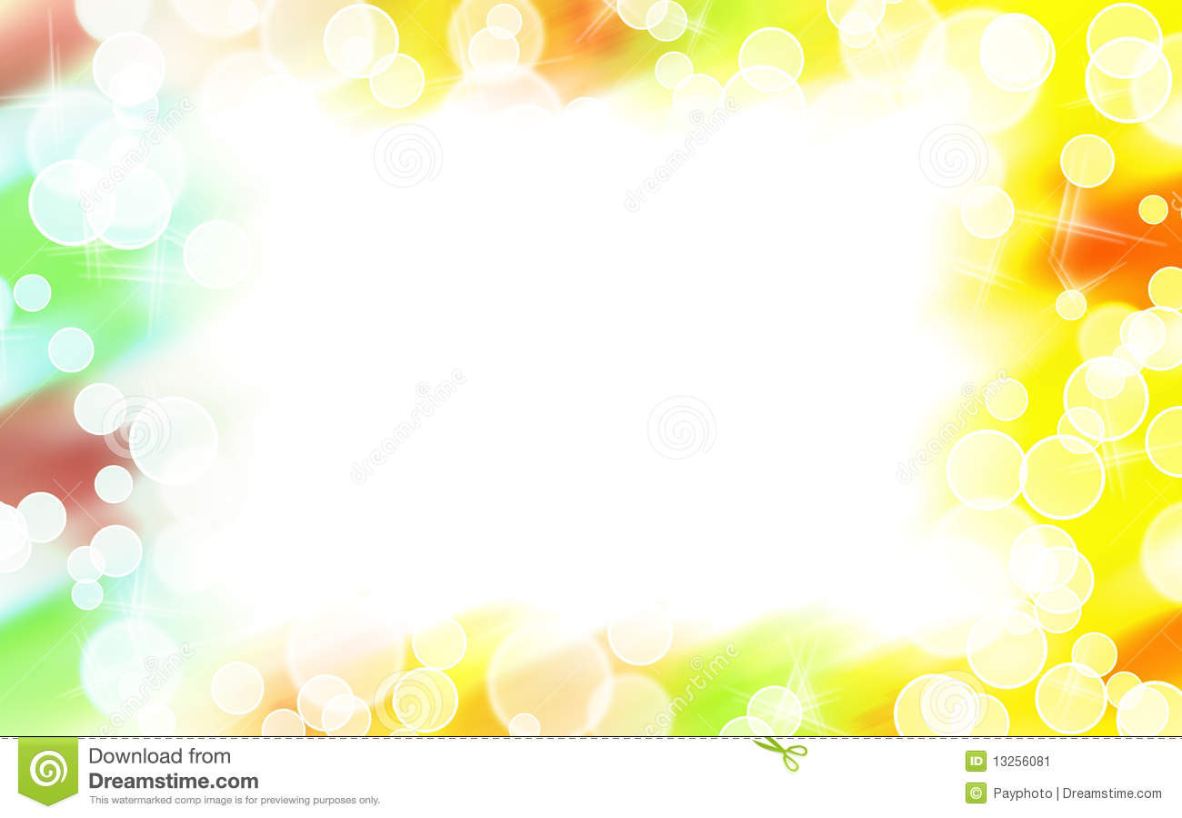 Abstract Colorful Star Shape Border Stock Image - Image ...