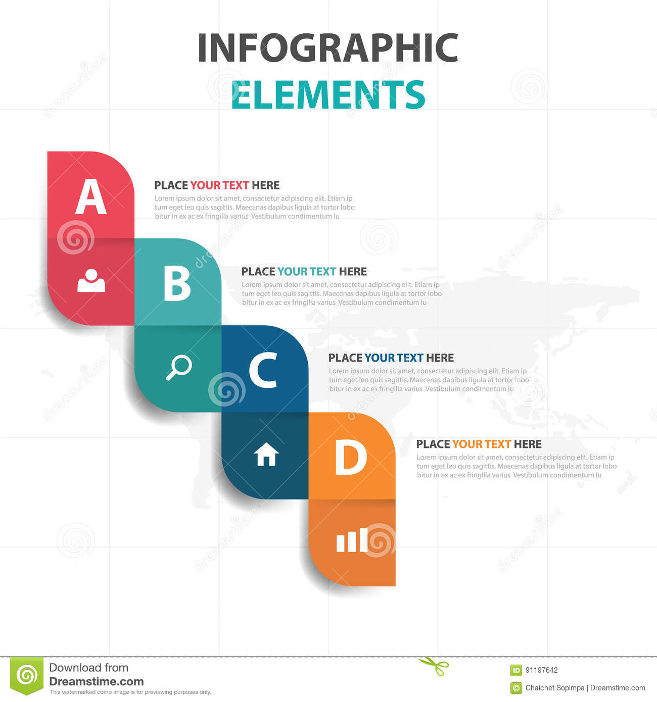 abstract colorful step business timeline infographics elements, Templates