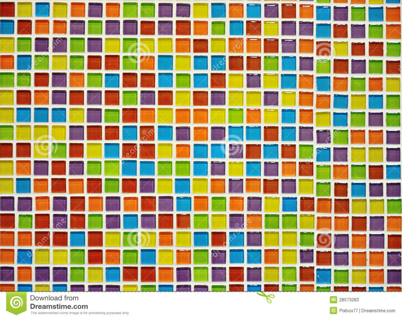 Abstract Colorful Tile Wall Stock Photos Image 28573283