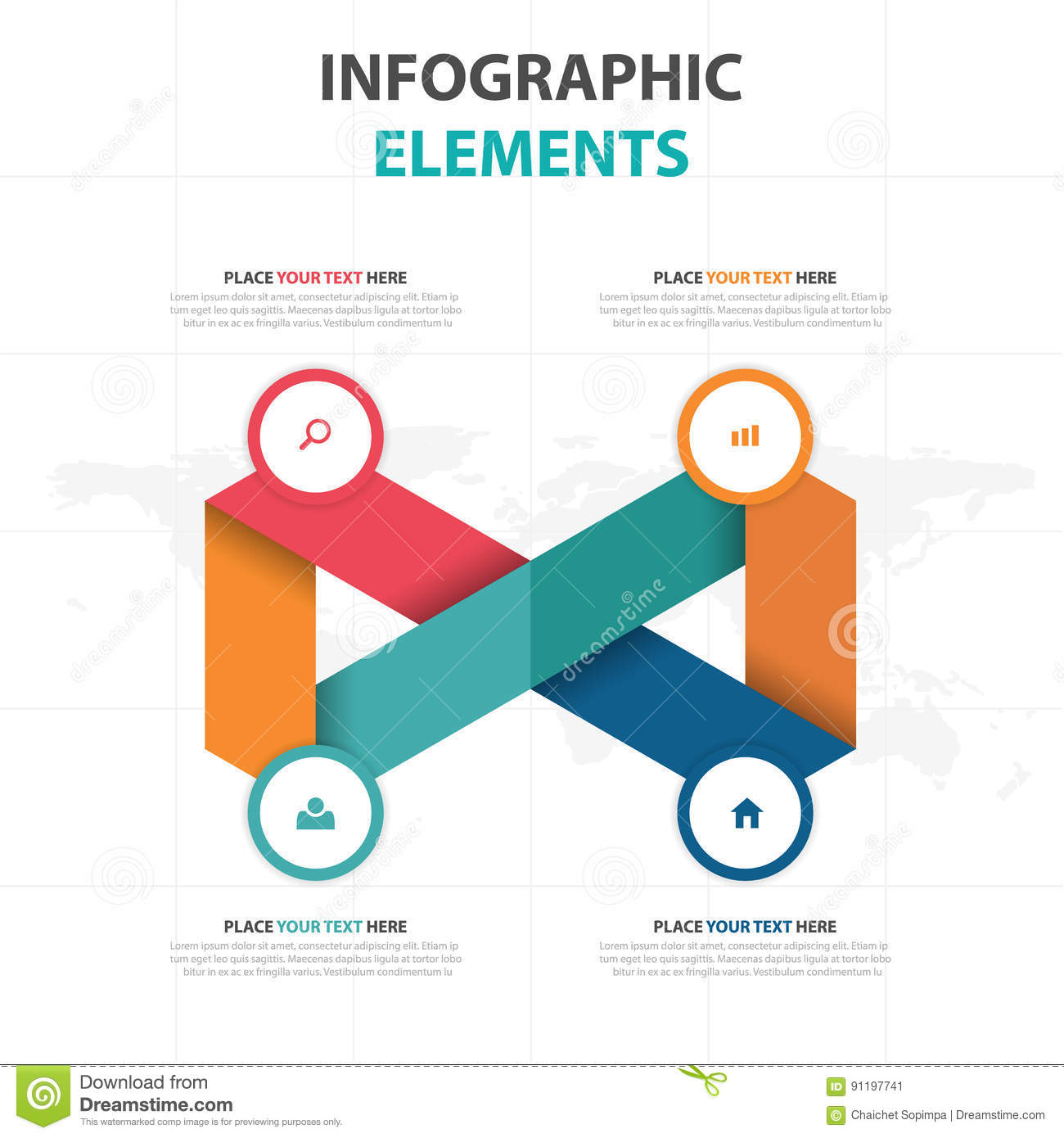 abstract colorful triangle business timeline infographics elements, Templates