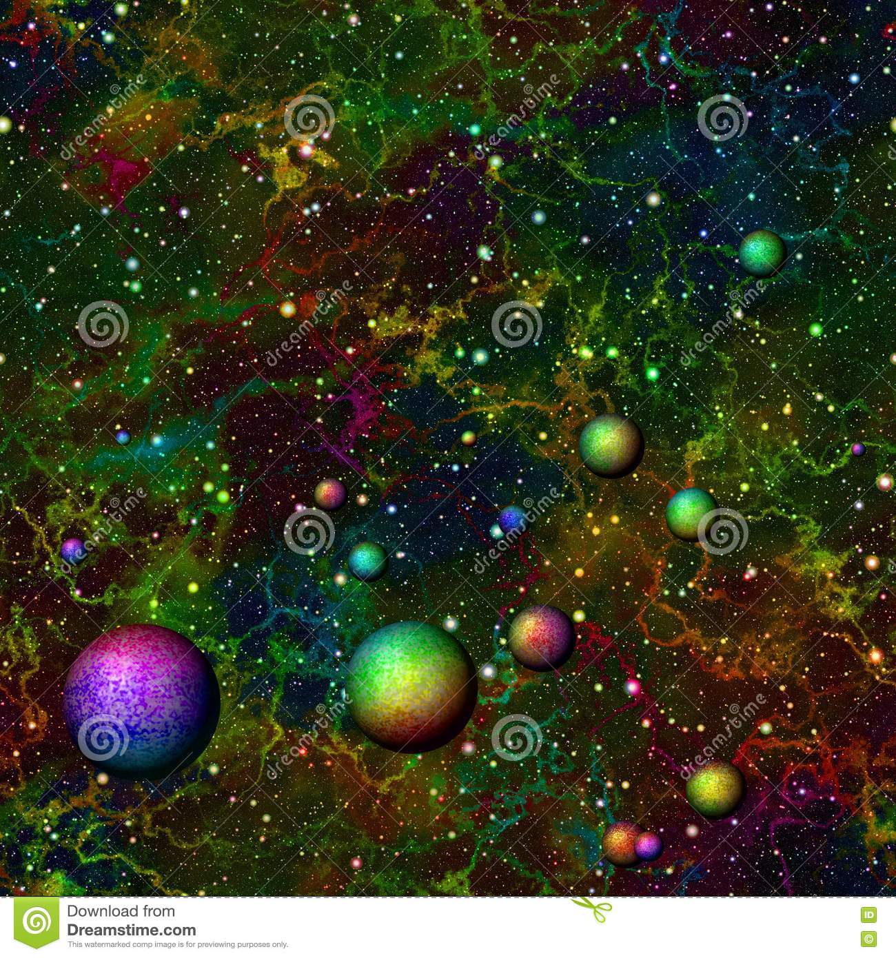 starry sky with planets - photo #47