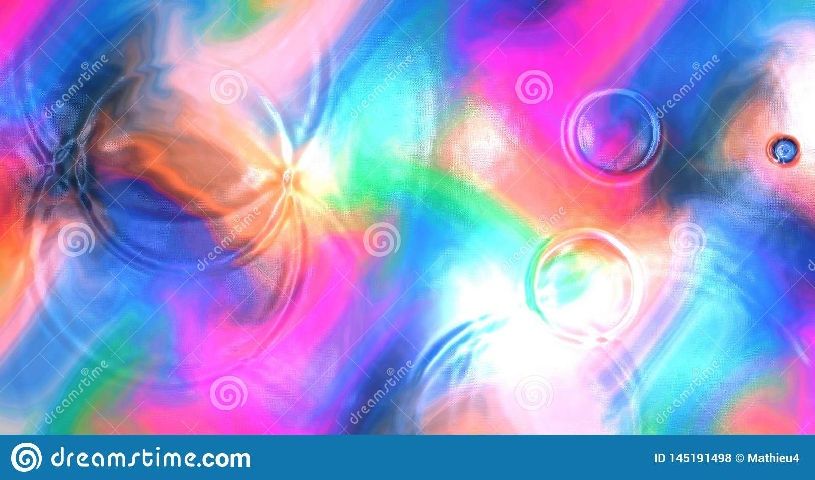 Abstract Colorful Wallpaper Background Water Ripples Waves