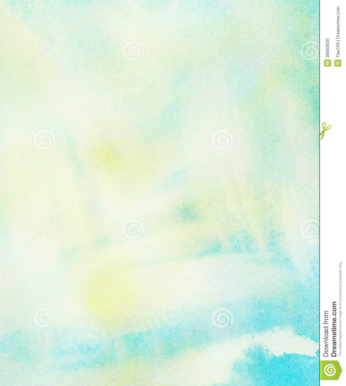 Download Abstract Colorful Watercolor Background Spring And Stock Illustration