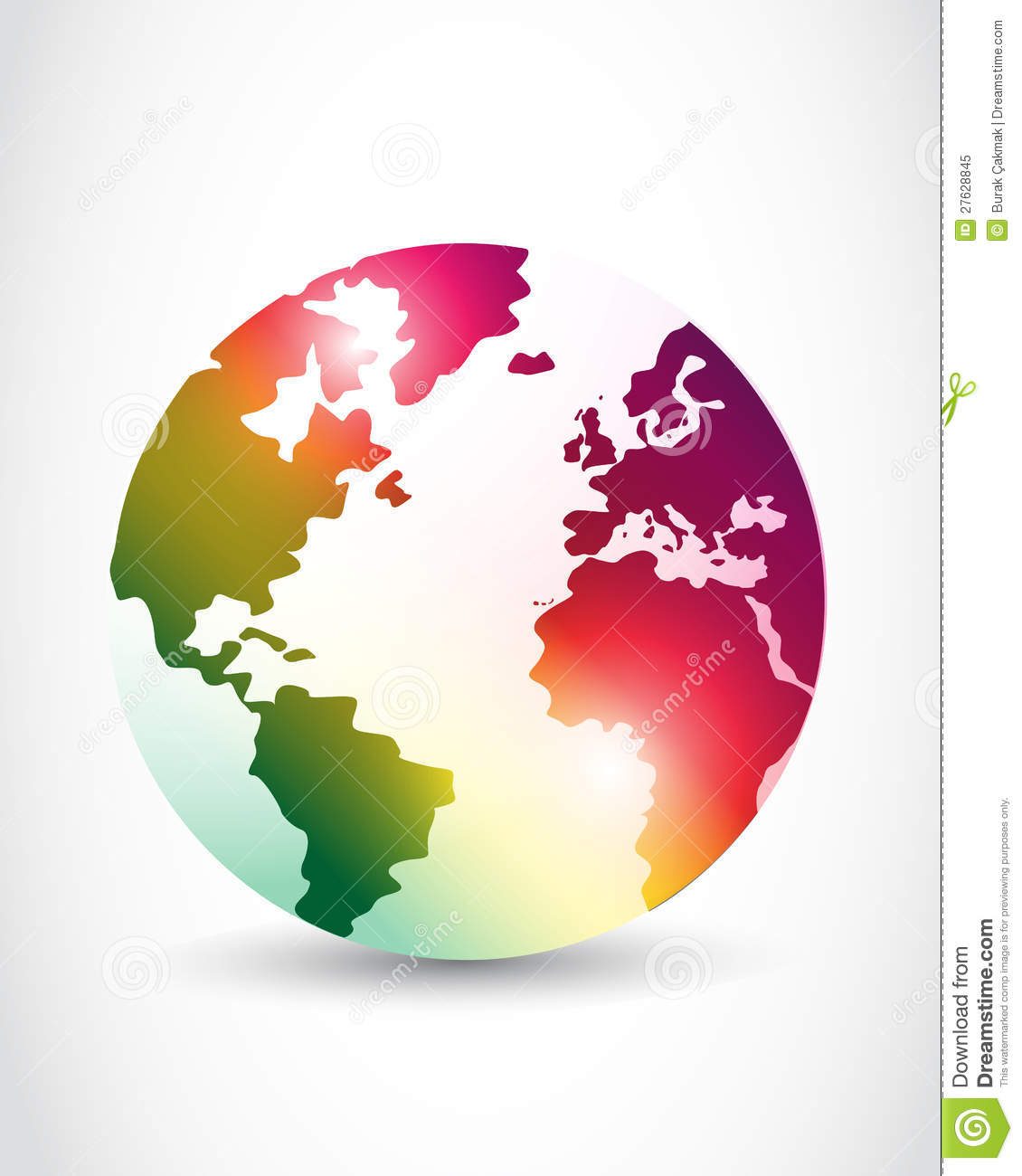 Abstract Colorful World Design Royalty Free Stock Photo - Image ...