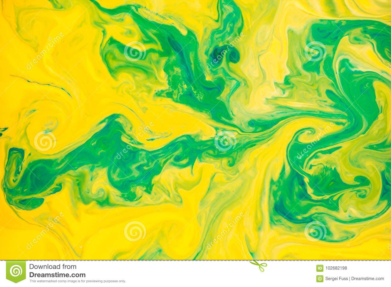 Abstract Colors, Backgrounds And Textures. Food Coloring In ...