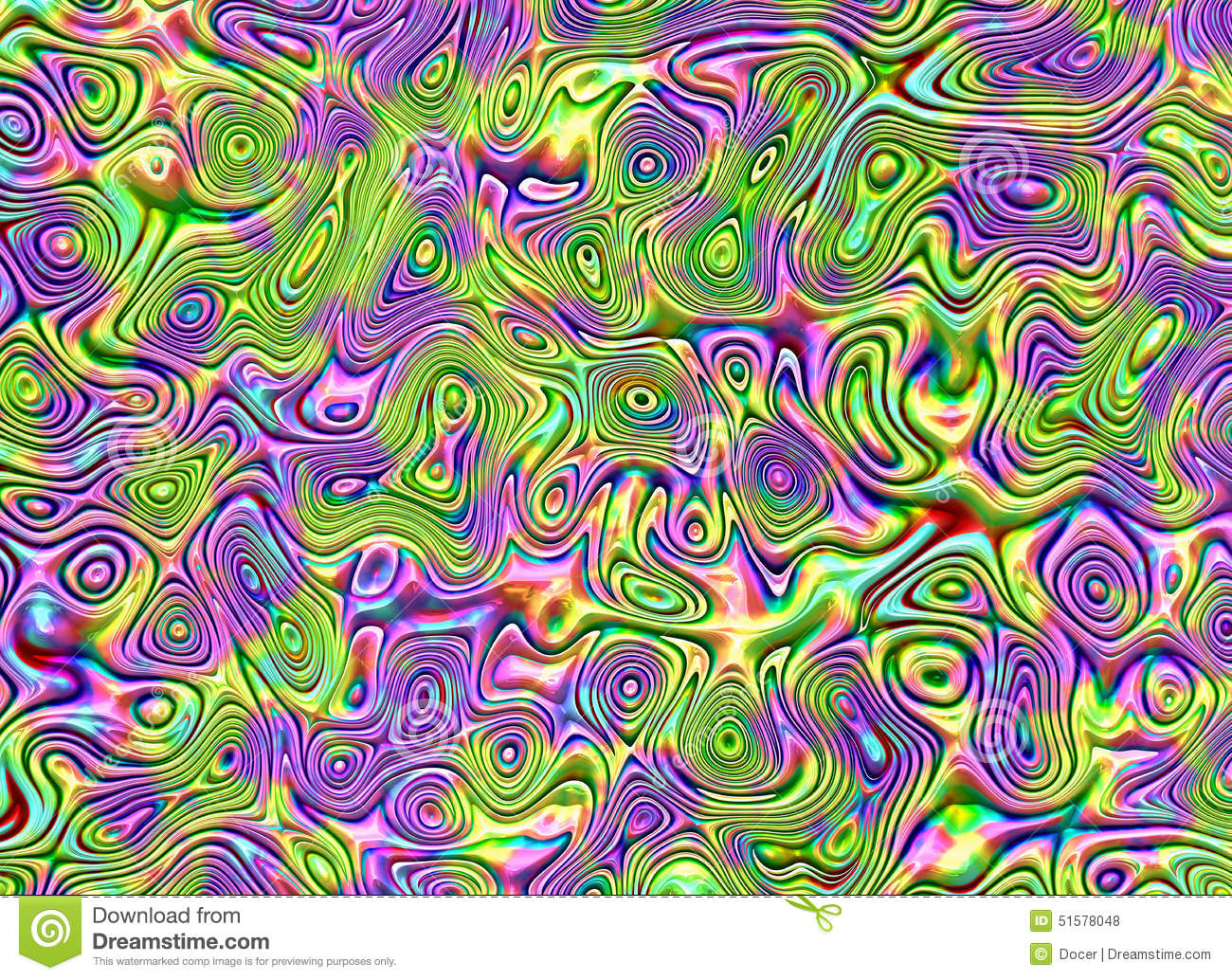 abstract colour drawing on a handmade glass backgrounds stock