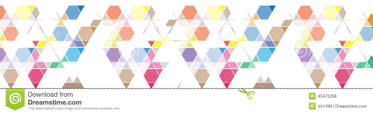 Abstract colour mesh triangle background banner for site header
