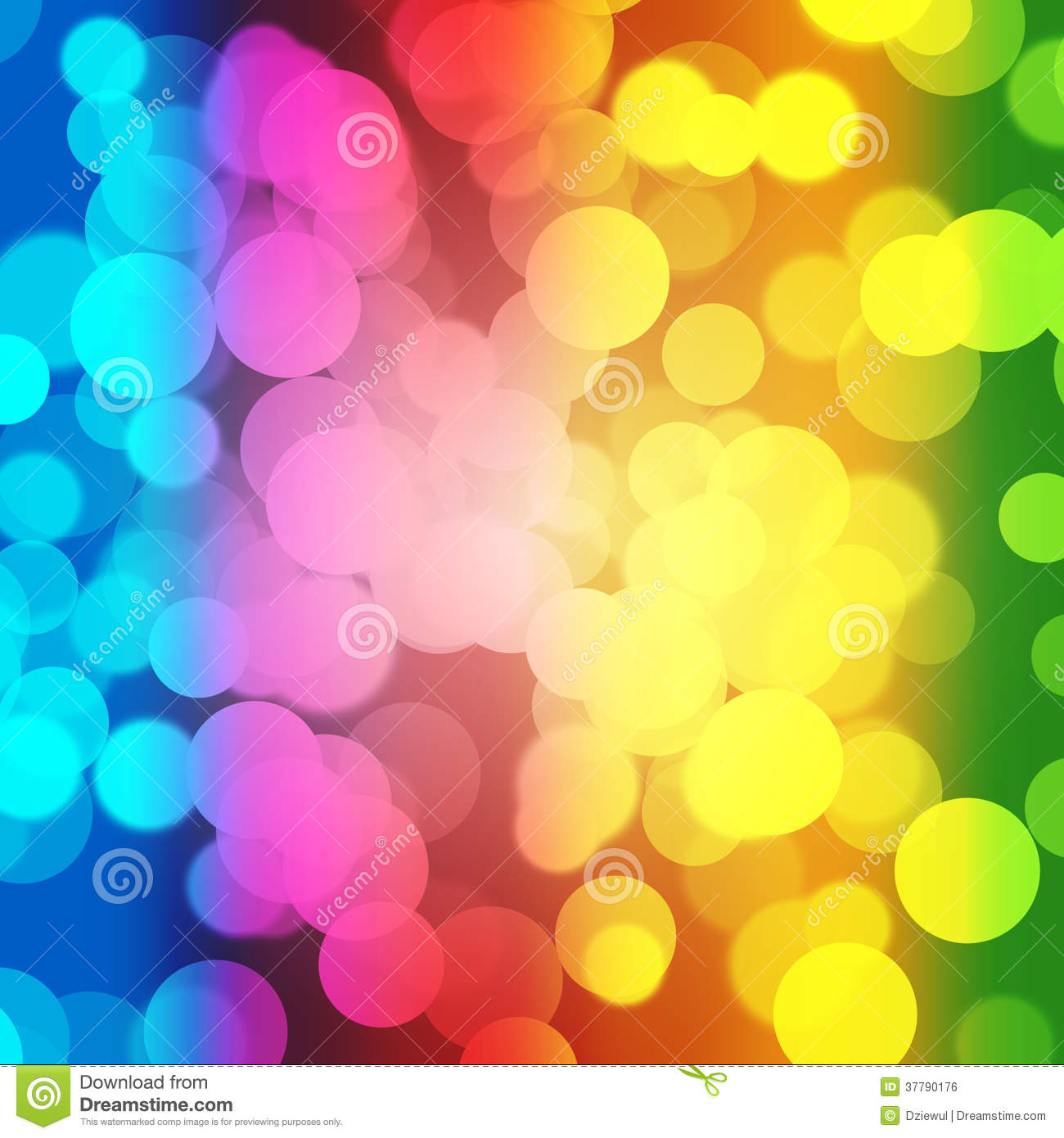 abstract colourful bubbles. stock illustration - illustration of