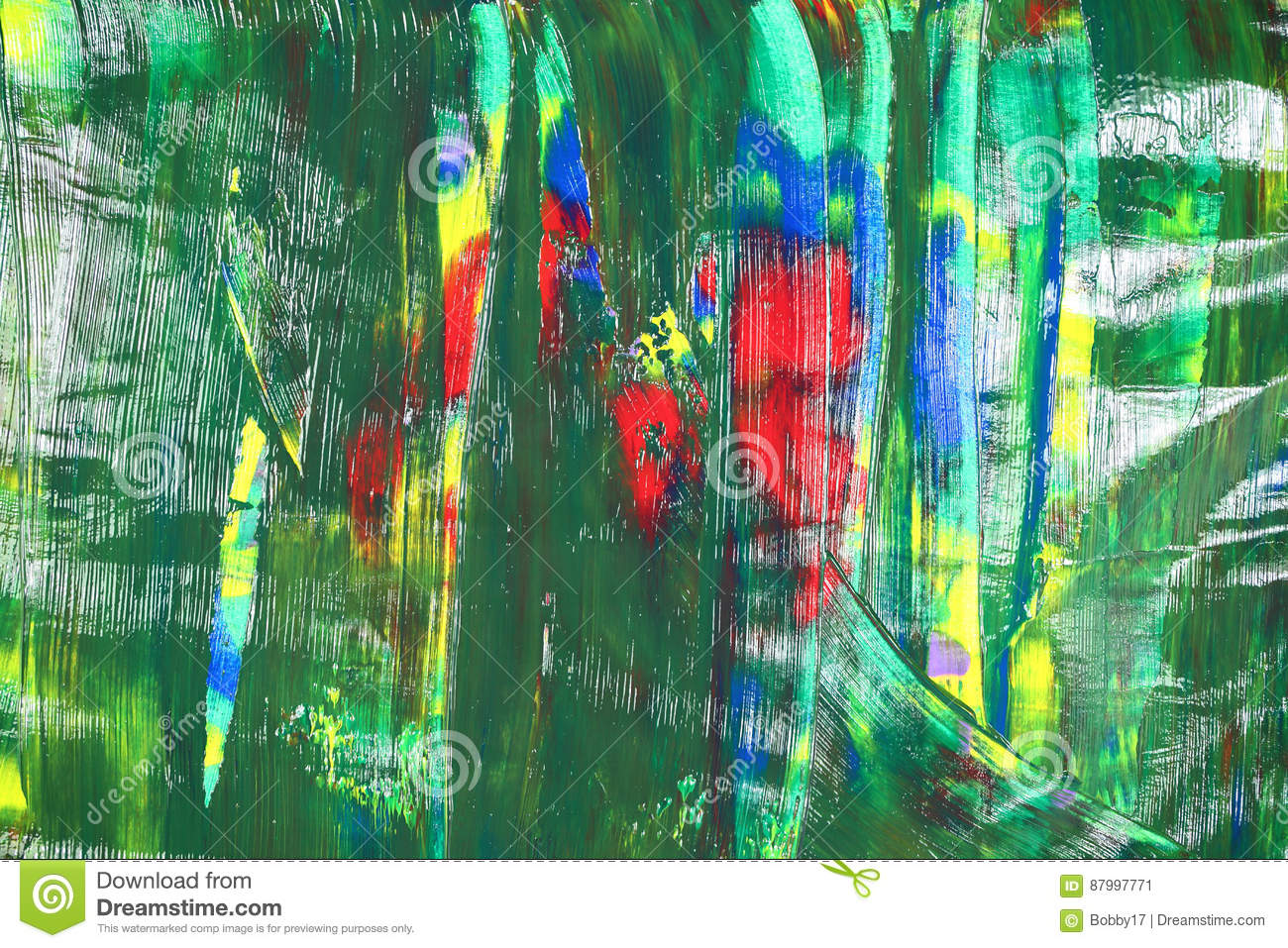 Abstract colours in red stock illustration. Illustration of rainbow ...