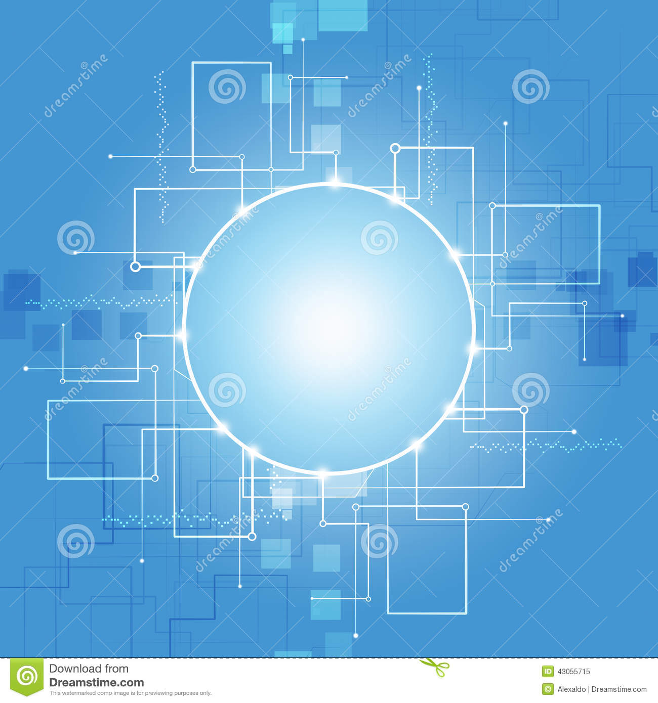 Abstract Communication Technology Background Stock ...