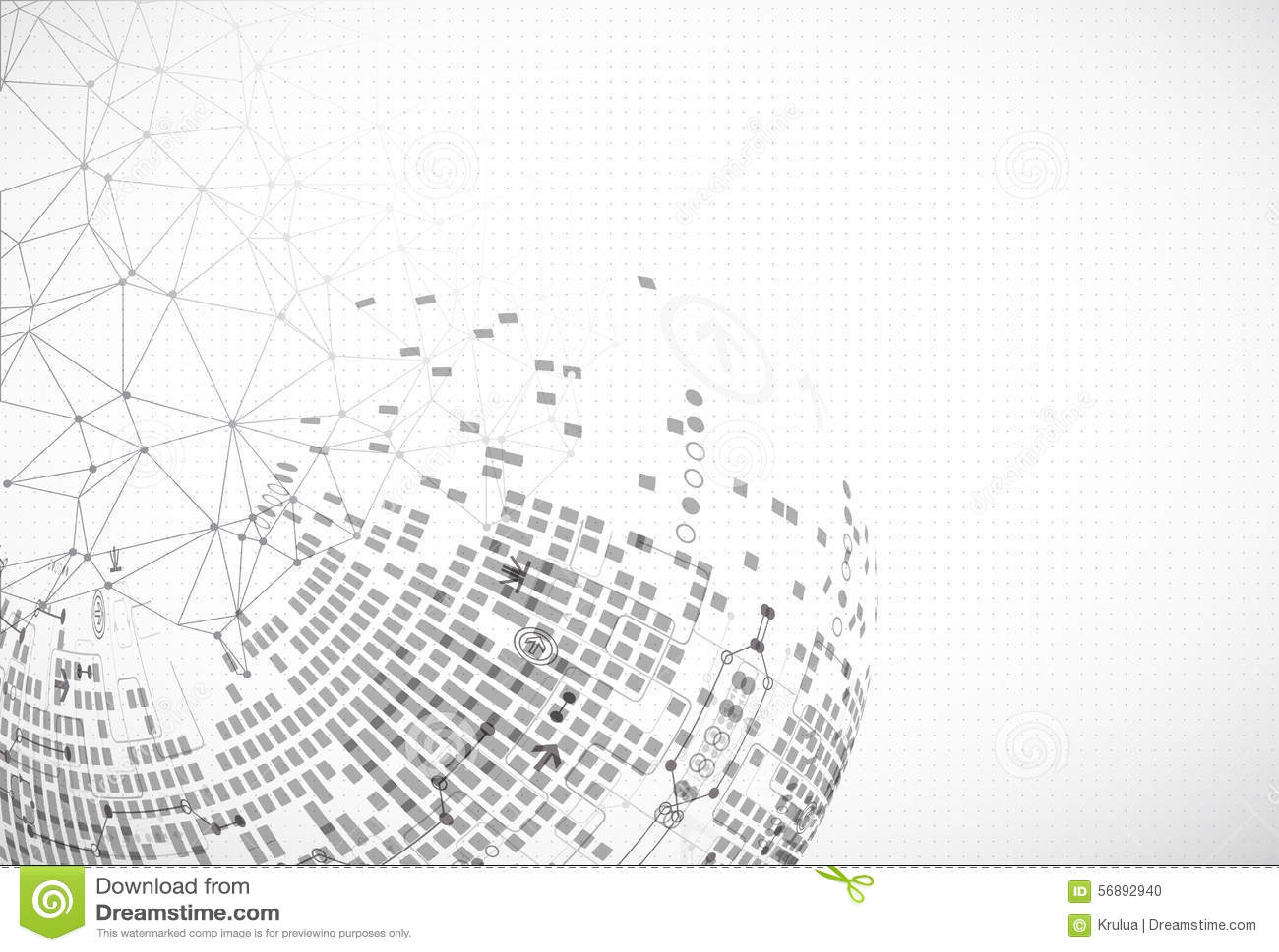 Abstract communication technology light design background.