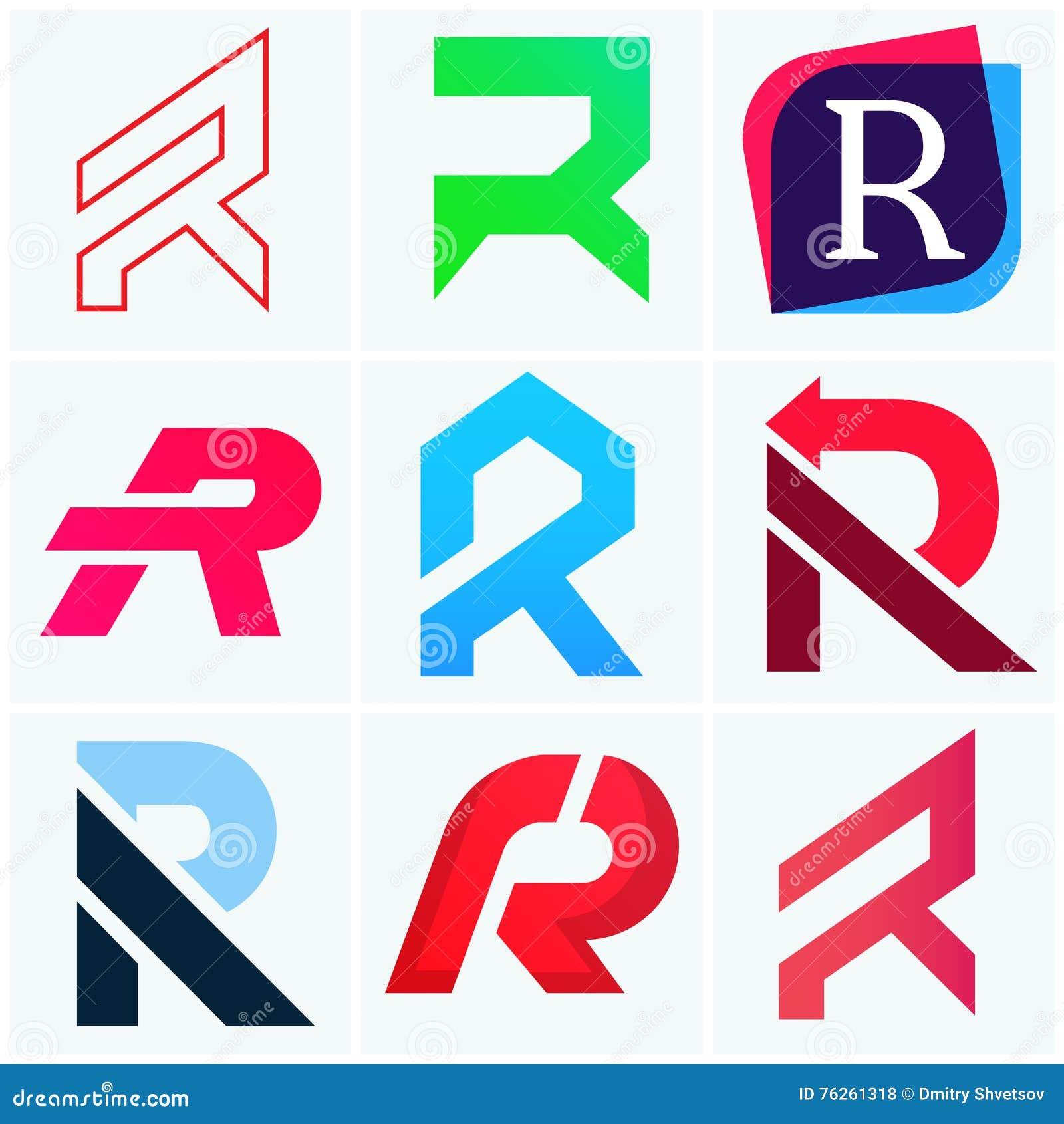Free Letter Based Logo Maker  Vector Template Design