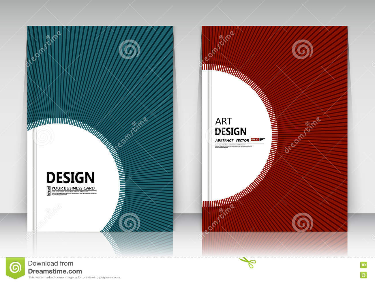 Abstract Composition, Business Card Set, Correspondence Collection ...