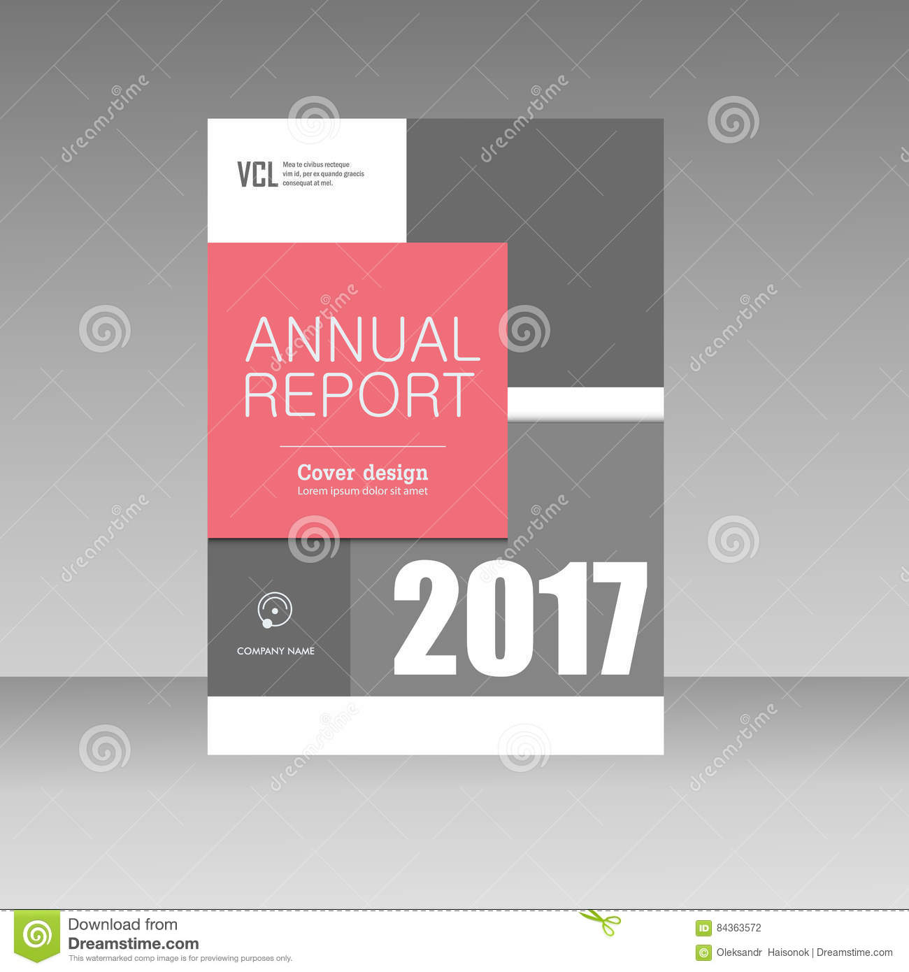 Composition Book Cover Template : Abstract composition color square texture a brochure
