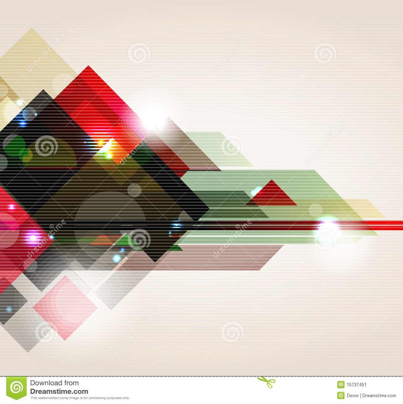 Abstract Contemporary Background Stock Vector - Image: 89852070
