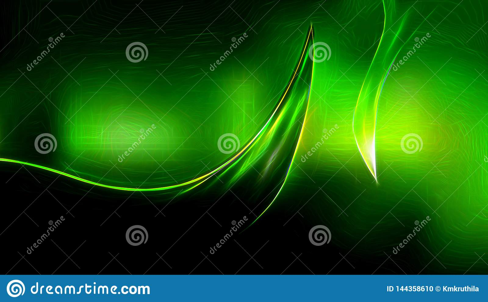 Abstract Cool Green Texture Background Design Stock