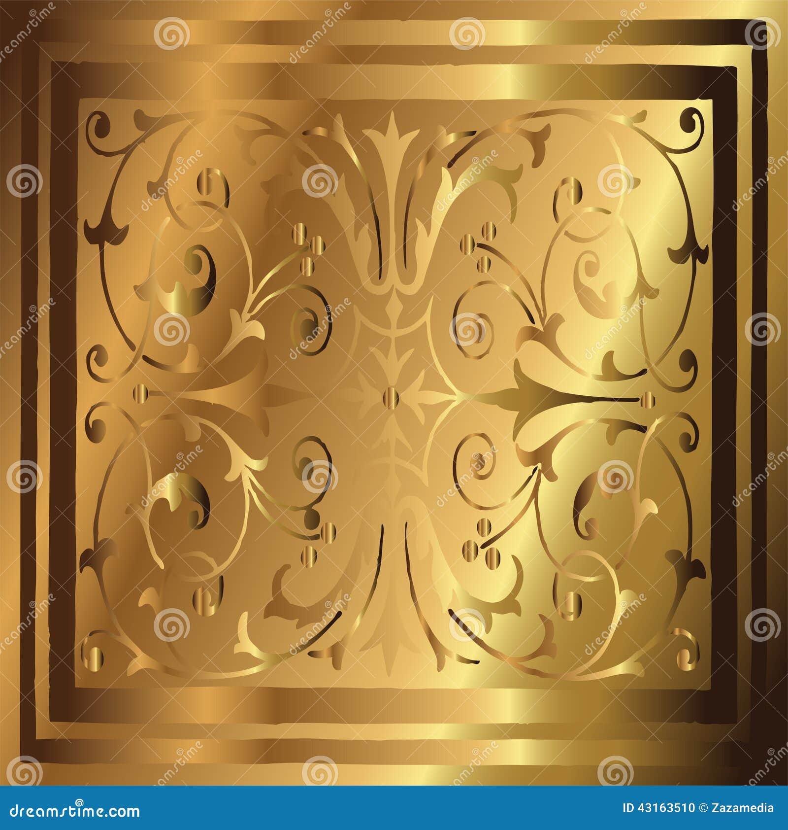 Home Design App Gold Abstract Copper Gold Background Of Elegant Vintage Floral