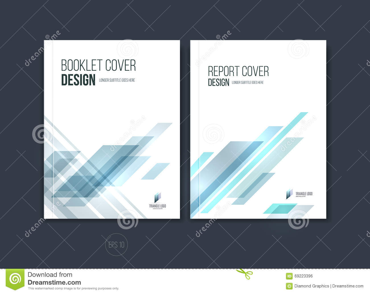 abstract cover design  business brochure template layout