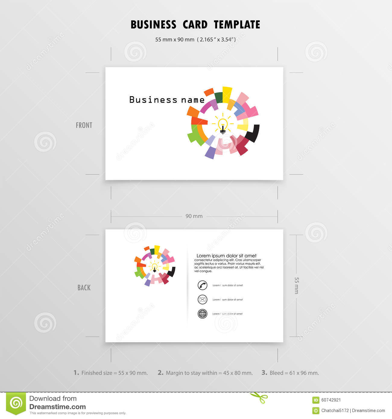 Abstract creative business cards design template name cards sym download abstract creative business cards design template name cards sym stock vector illustration of reheart Images