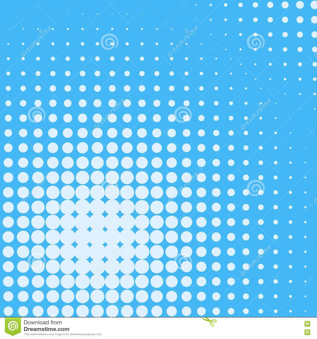 Abstract creative concept comics pop art style blank layout template with clouds beams and isolated dots pattern on backgro