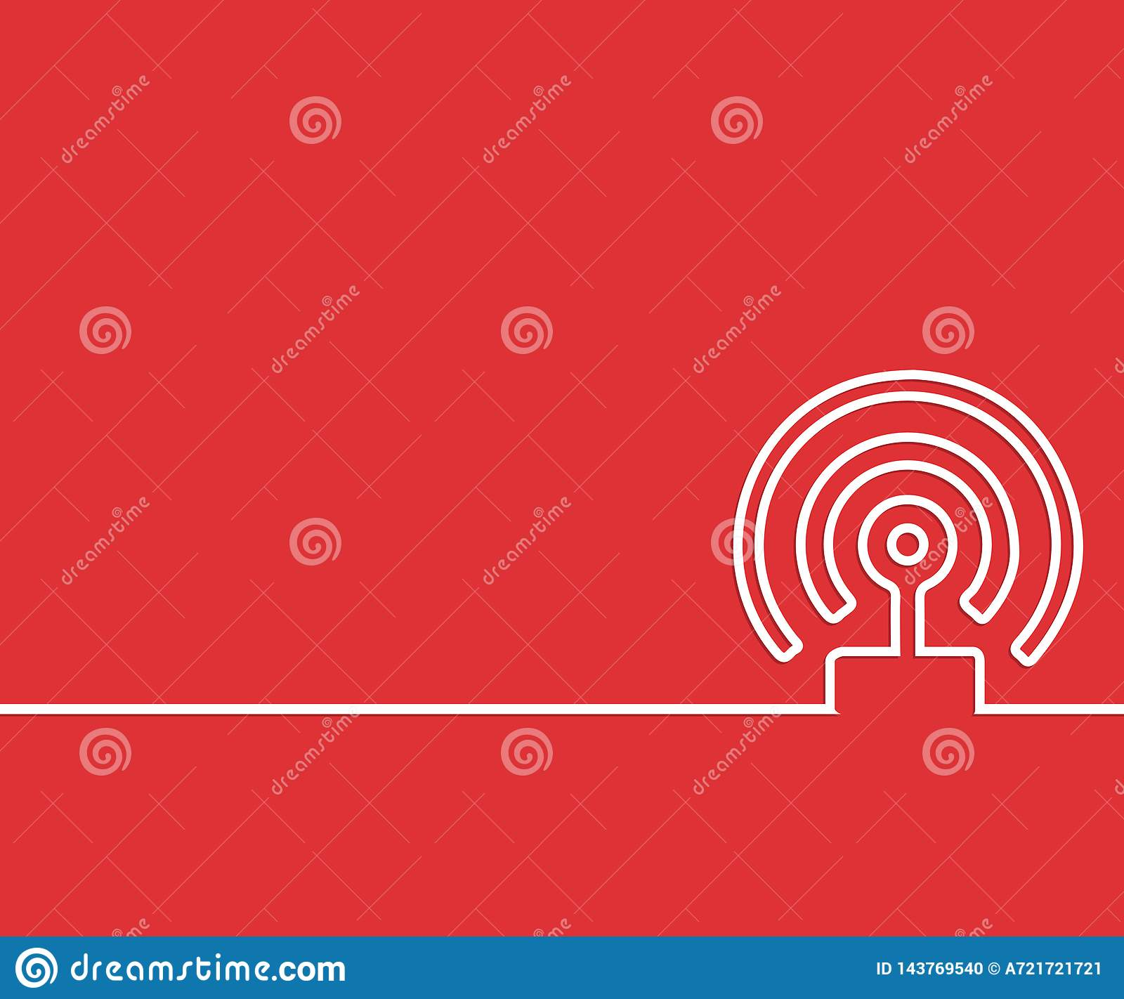 Abstract creative concept line draw background for web, mobile app, illustration template design, business infographic, page,