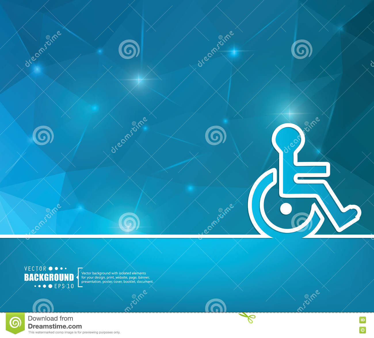 Disability Sign Vector Design Vector Illustration