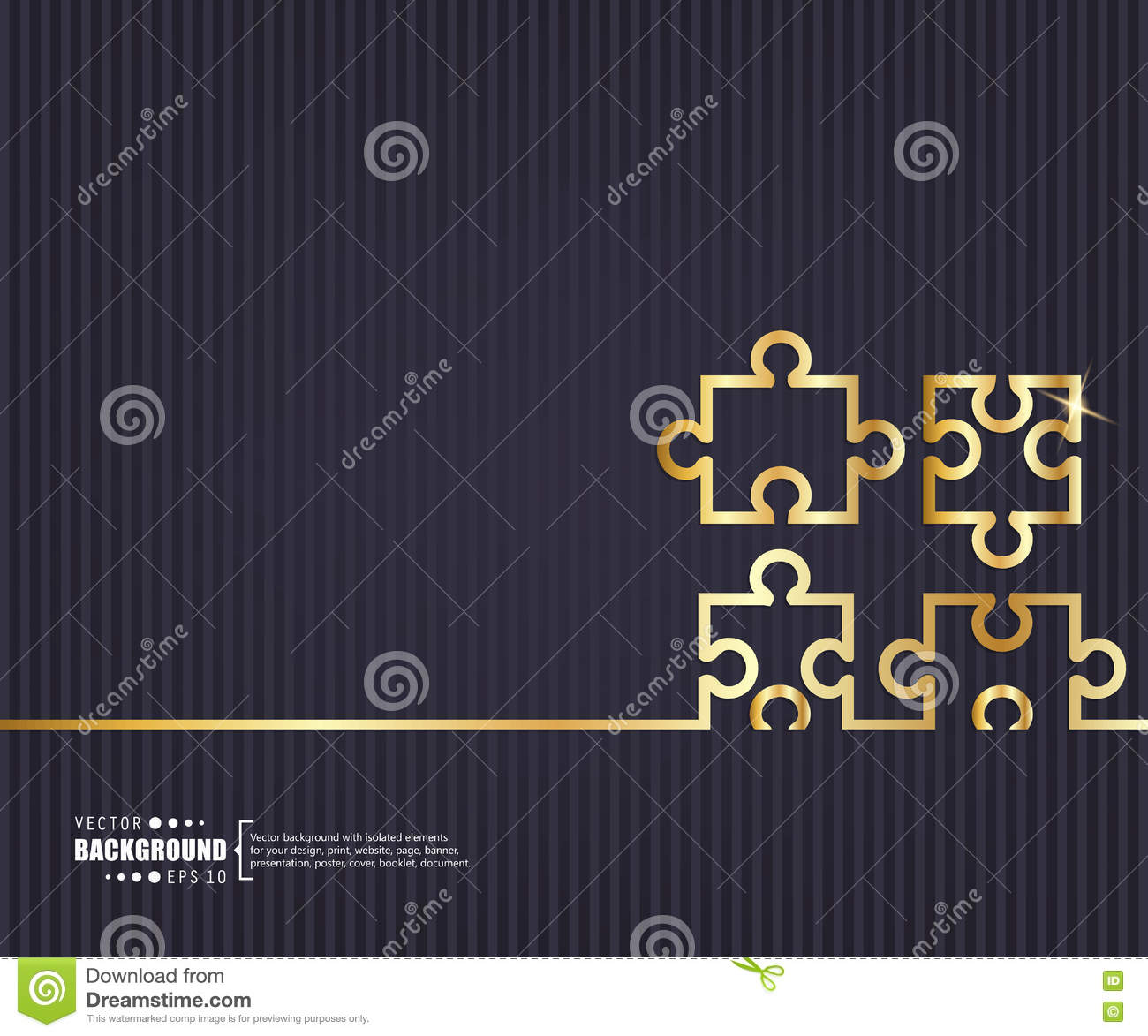 Abstract creative concept vector background. For web and mobile applications, illustration template design, business