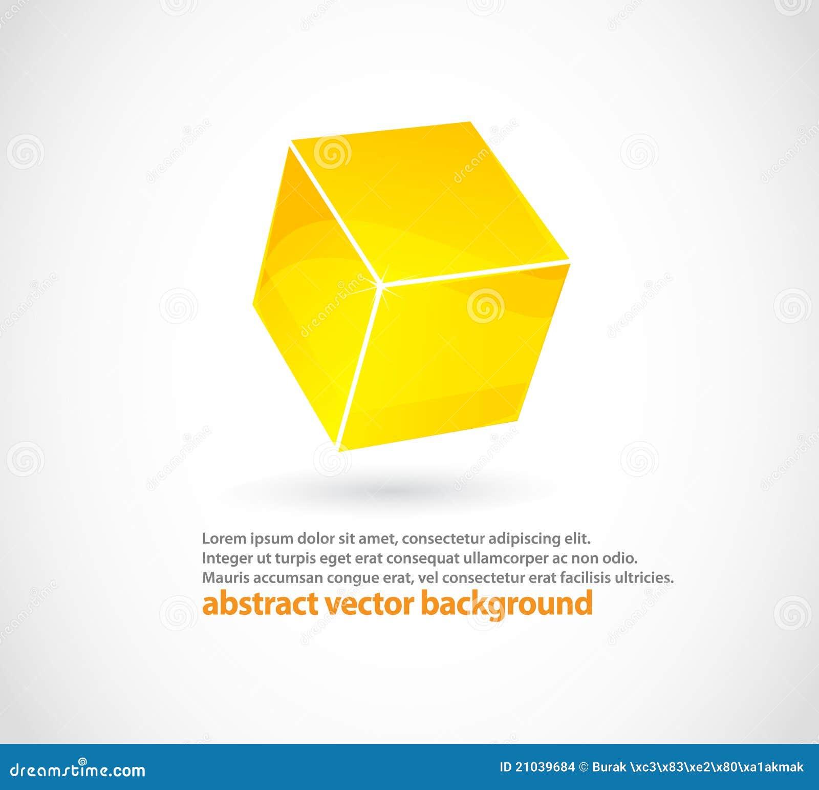 Abstract cube logo