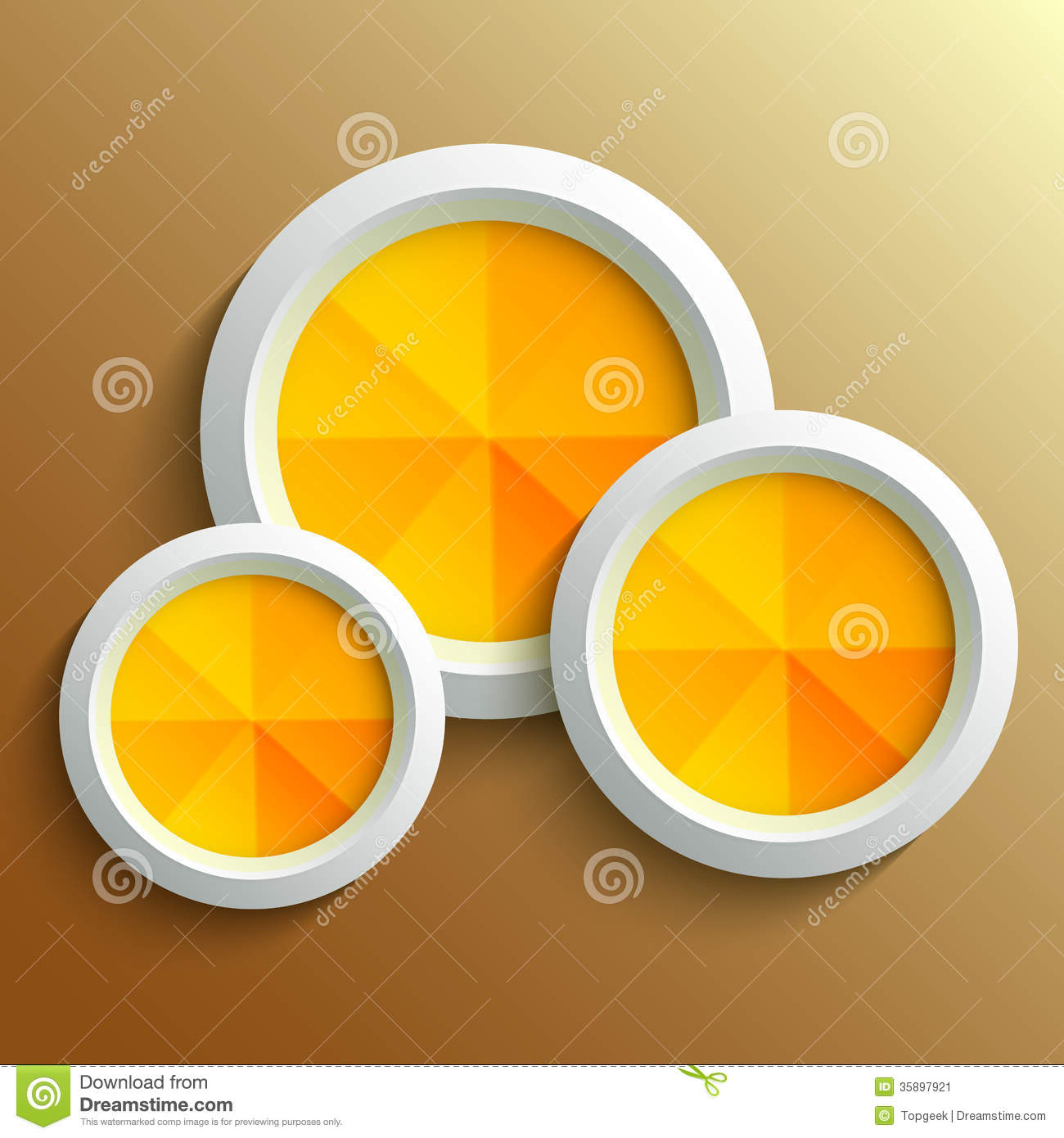 Abstract 3d Circle Stock Vector. Illustration Of Icon