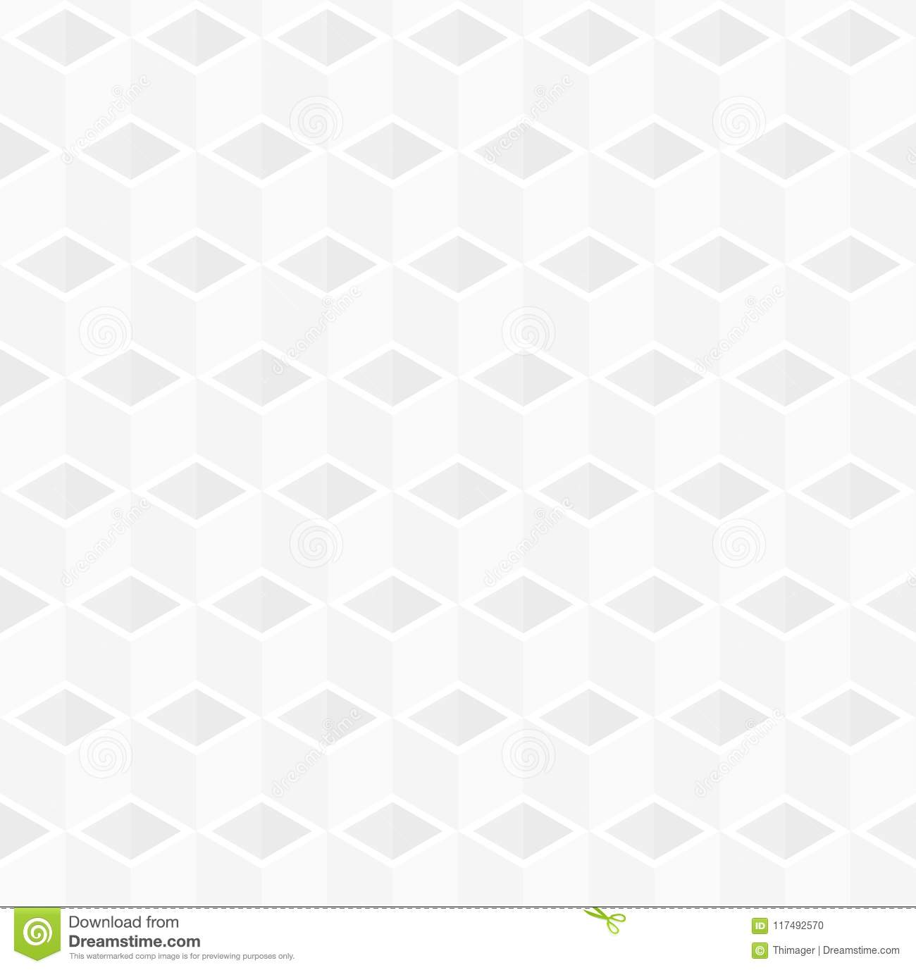 abstract 3d cube box pattern background stock illustration