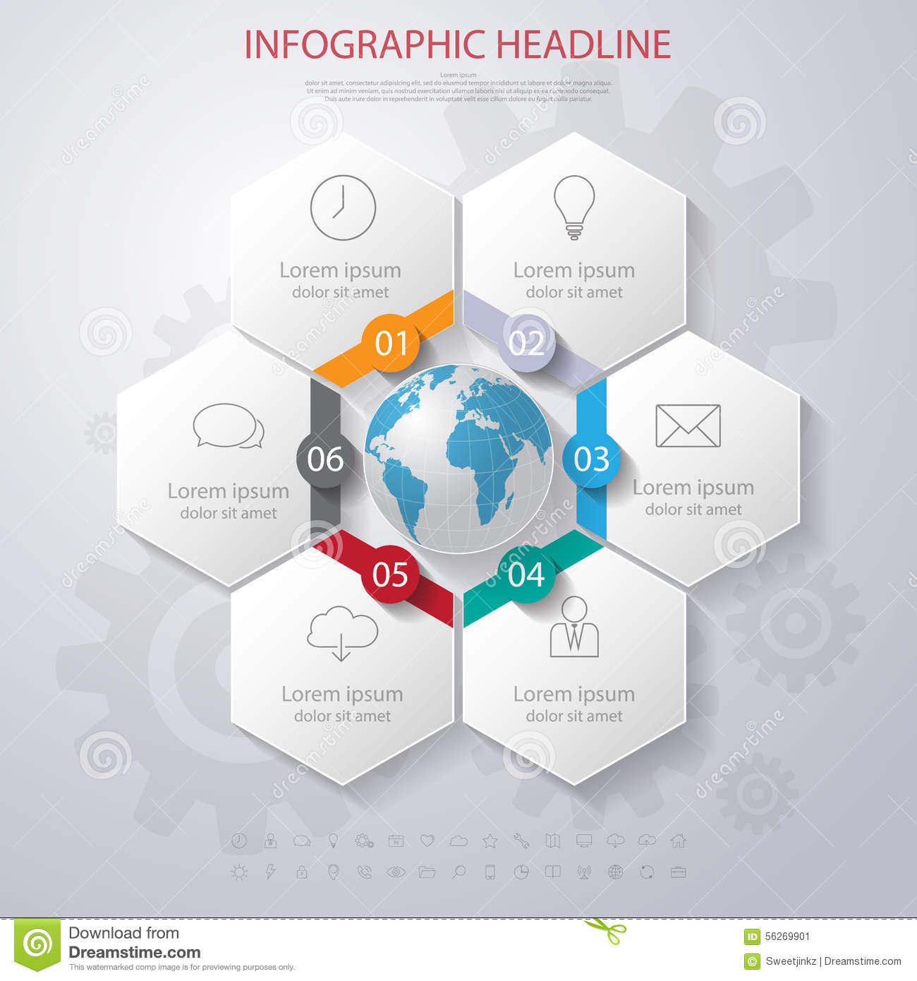Abstract 3d digital illustration infographic with world mapn abstract 3d digital illustration infographic with world mapn gumiabroncs Image collections