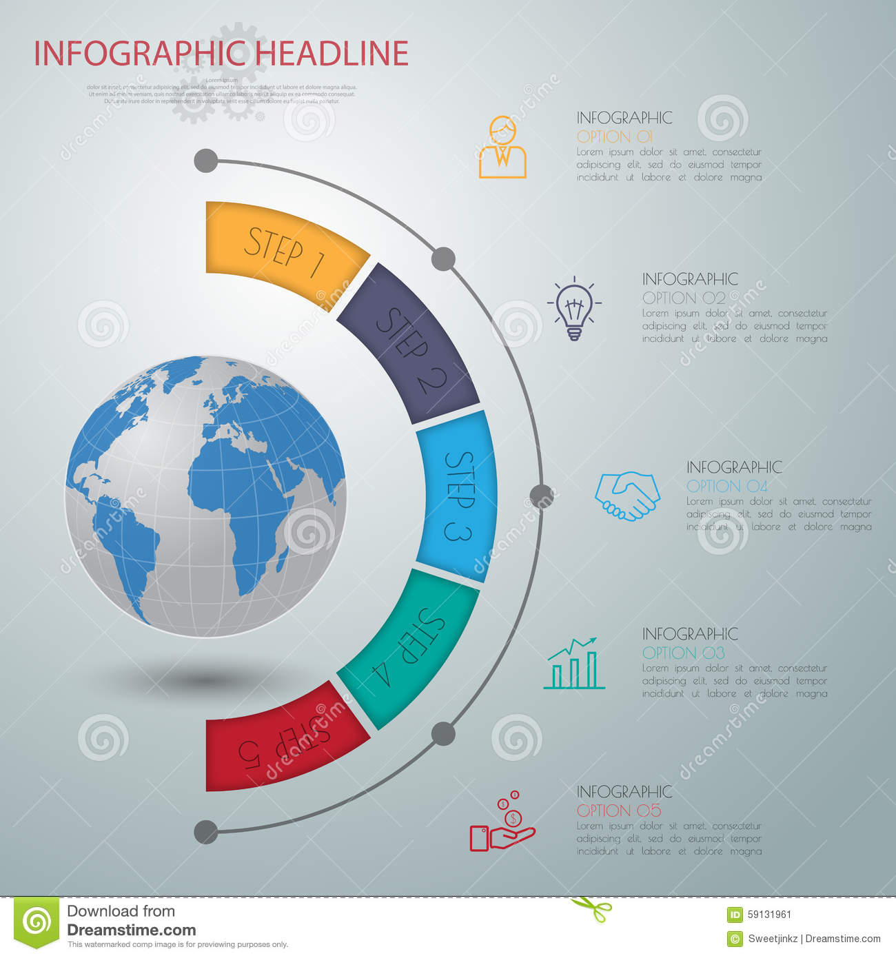 Abstract 3d digital illustration infographic with world mapn abstract 3d digital illustration infographic with world mapn hexagon number gumiabroncs Image collections
