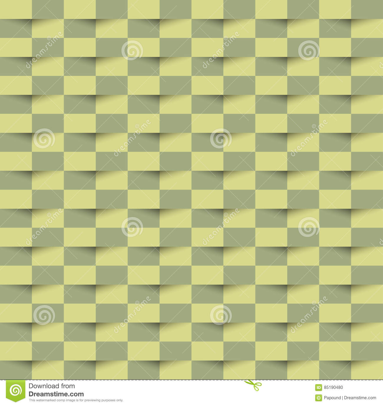 Abstract 3d Green Geometric Seamless Texture Pattern Background ...