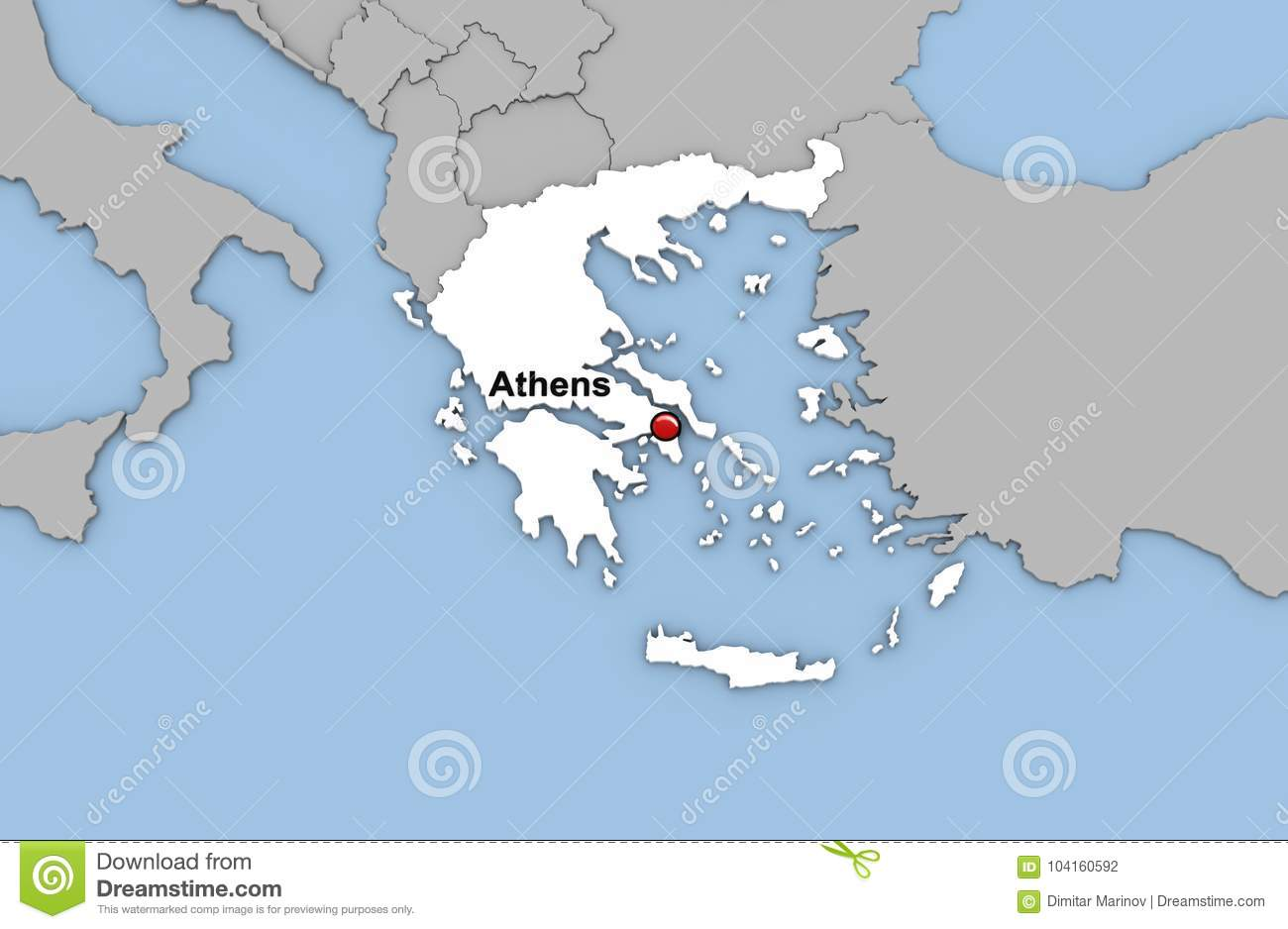 Abstract 3d render of map of greece stock illustration download abstract 3d render of map of greece stock illustration illustration of color illustration gumiabroncs Choice Image