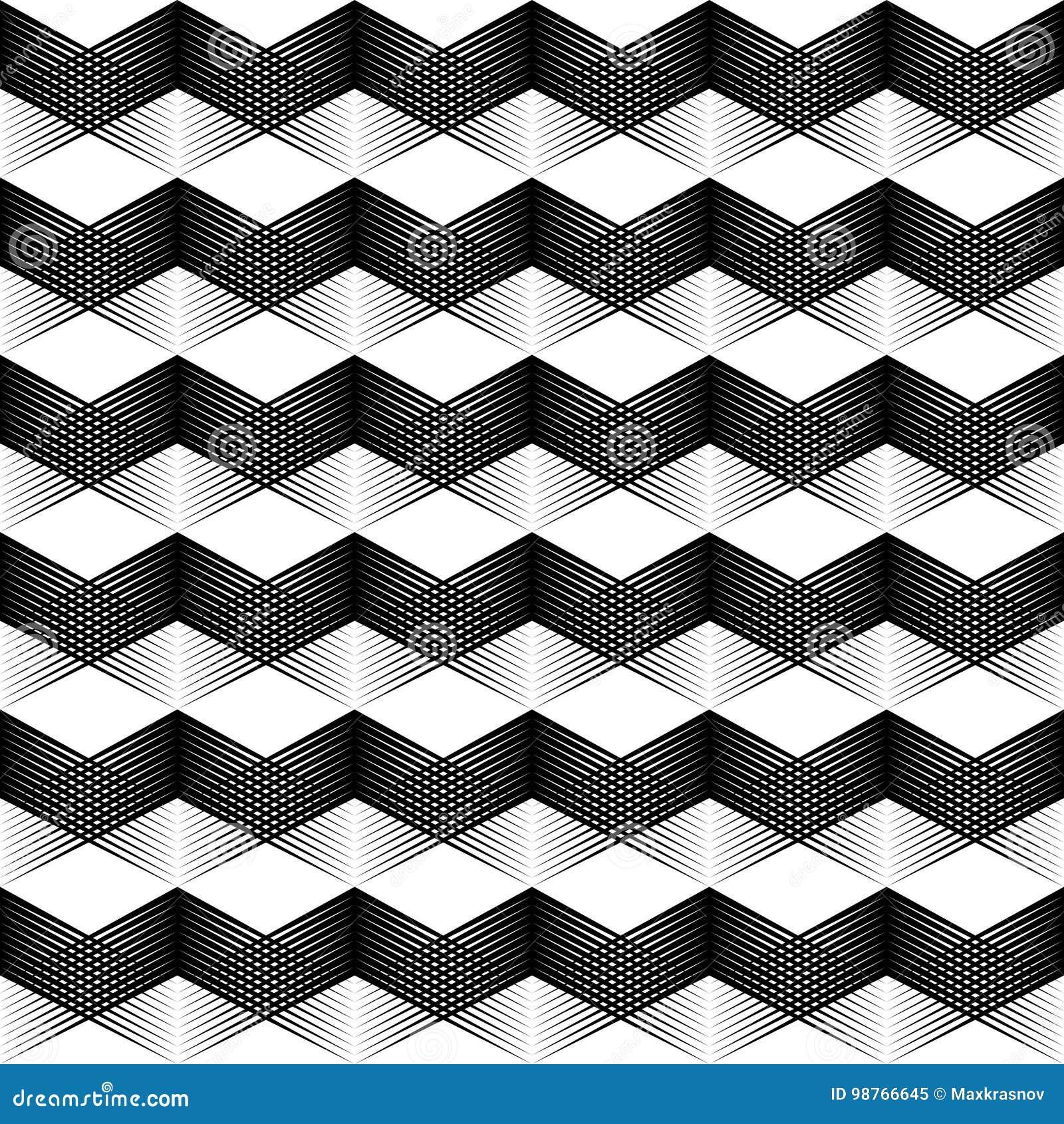 Abstract 3d Texture Seamless Cube Wallpaper Stock Vector