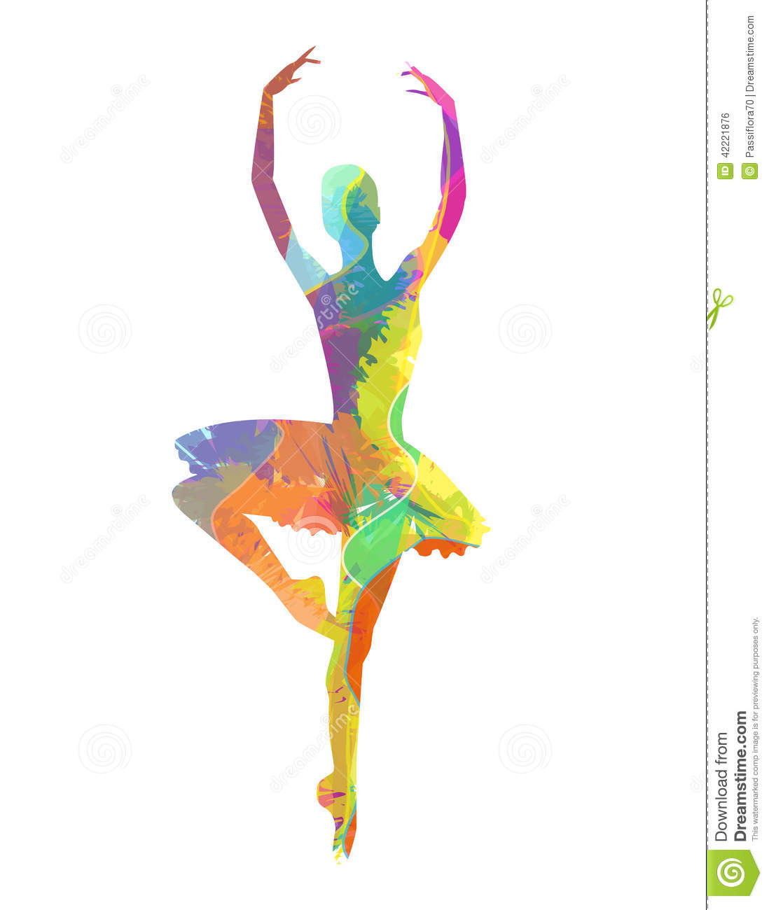 ffdc91277 Abstract vector silhouette dancing girl. Designers Also Selected These Stock  Illustrations