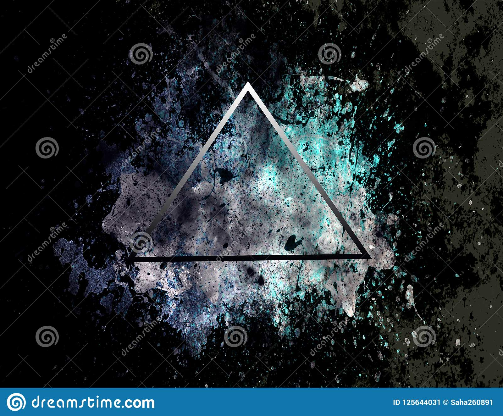 Abstract Dark Background Geometric Texture Triangle Backgrounds