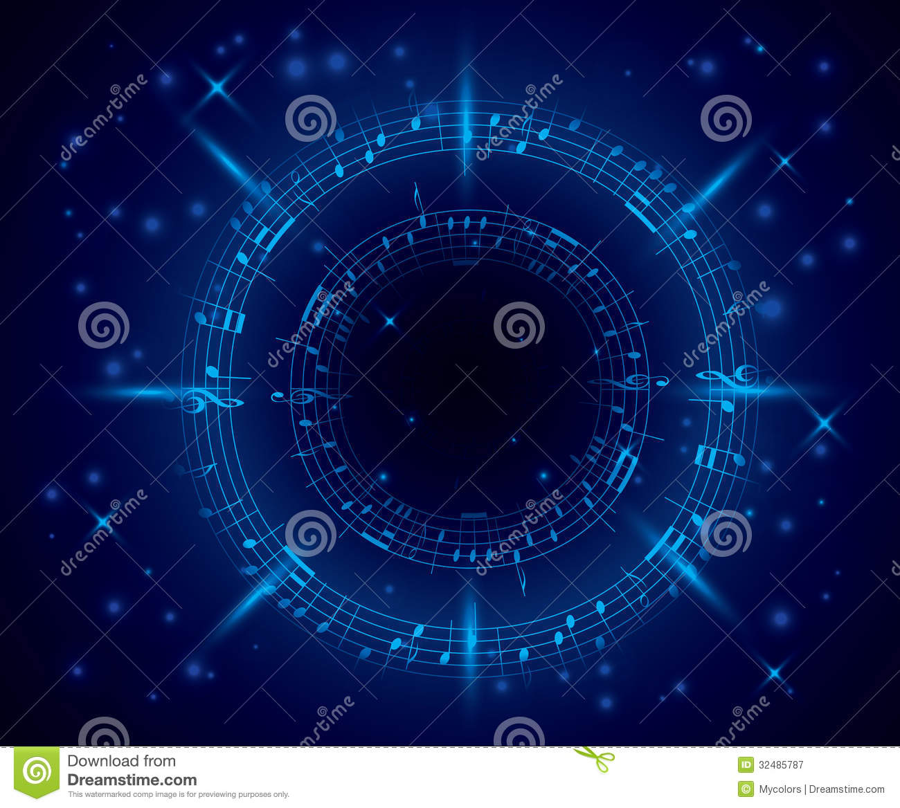 Simple Wallpaper Blue Music - abstract-dark-blue-music-background-notes-vector-eps-32485787  Collection_846048.jpg