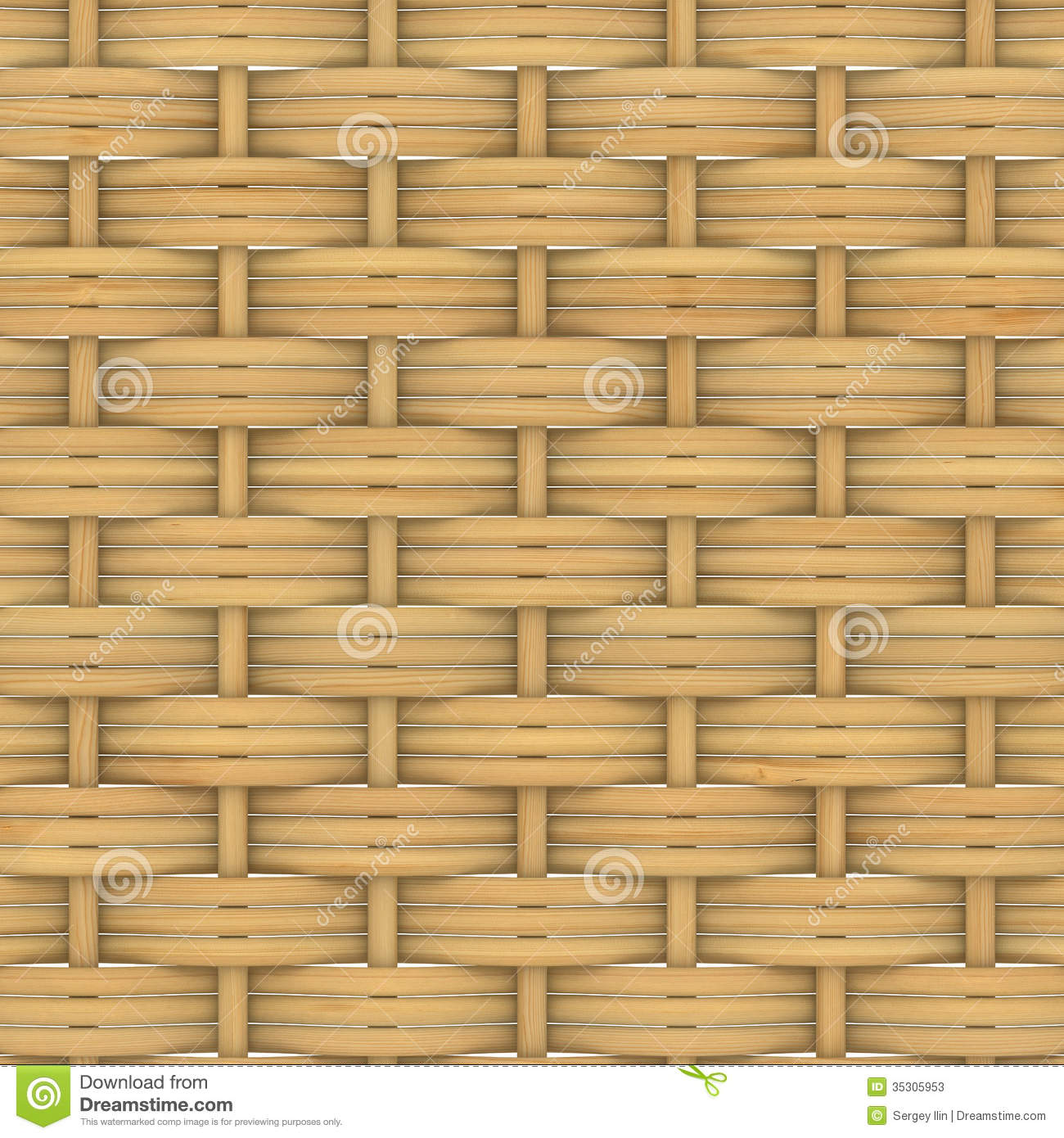 How To Weave A String Basket : Abstract decorative wooden textured basket weaving stock