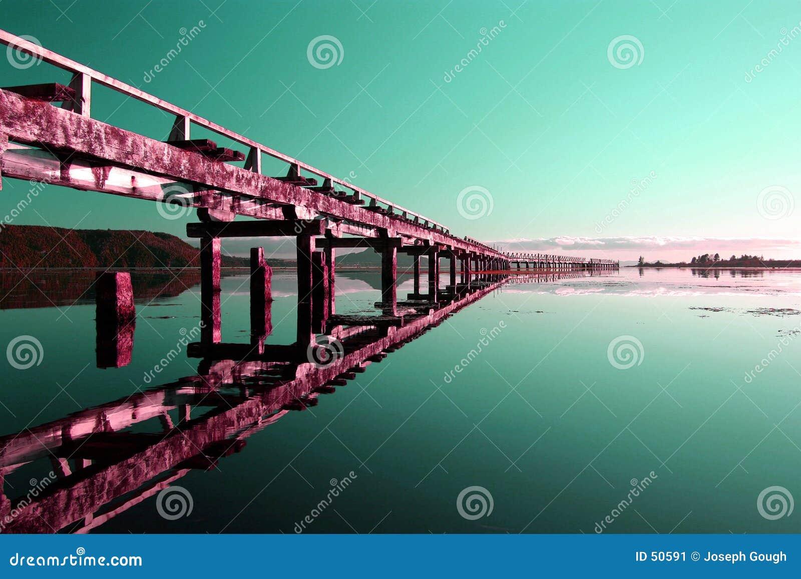 Abstract, Derelict Pier